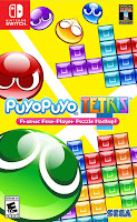 Puyo Puyo Tetris Game Cover Nintendo Switch