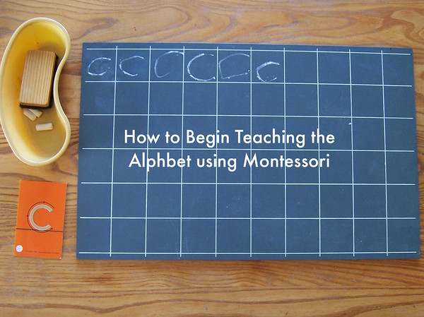 How to Begin Teaching the Alphabet