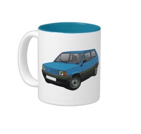 Fiat Panda mugs