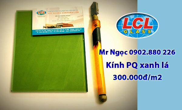 Kính Phản Quang màu xanh lá LCL Glass
