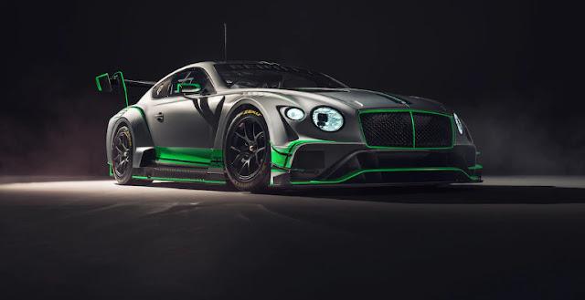 Bentley разрабатывает Continental GT3 второго поколения
