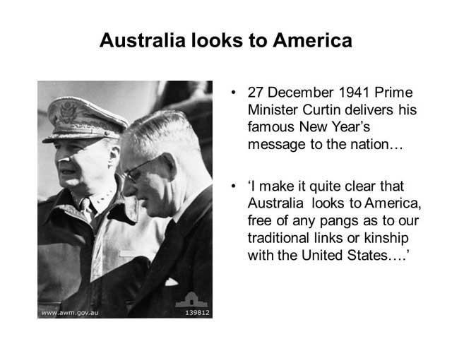 Australian Prime Minister John Curtin, 27 December 1941 (worldwartwo.filminspector.com