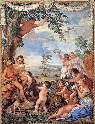 Пьетро да Картона, Золотой век, живопись, фреска