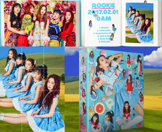 official  red velvet  u0026 39 rookie u0026 39  comeback    rookie9thwin