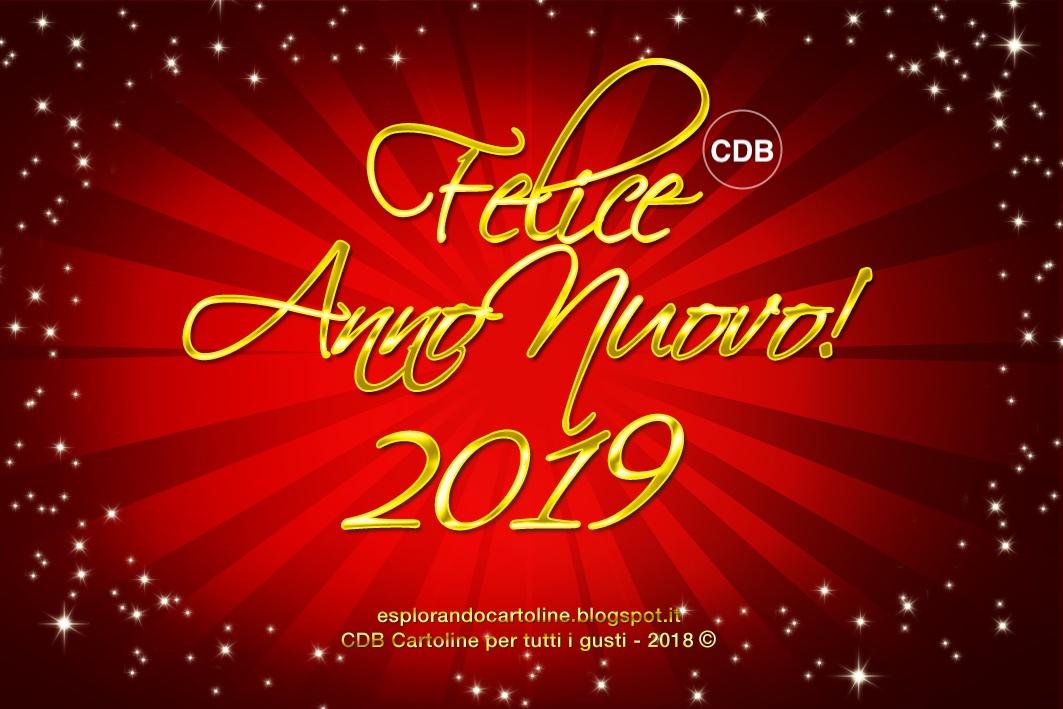 Cdb Cartoline Per Tutti I Gusti Cartolina Felice Anno Nuovo