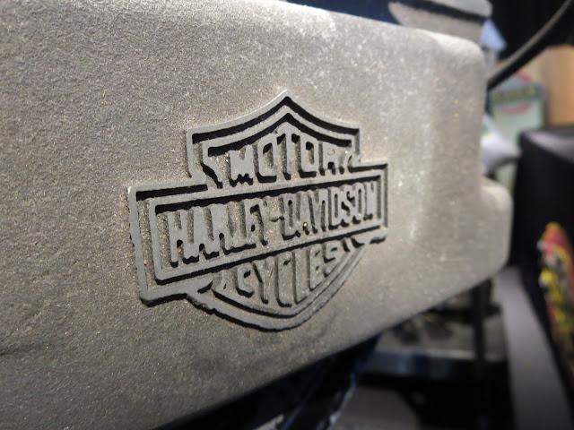 Harley-Davidson VR1000 Head Stamp