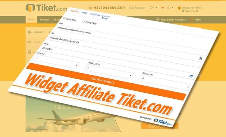 Info Cara Menjadi Agen Penjualan Tiket Dari Tiket.com