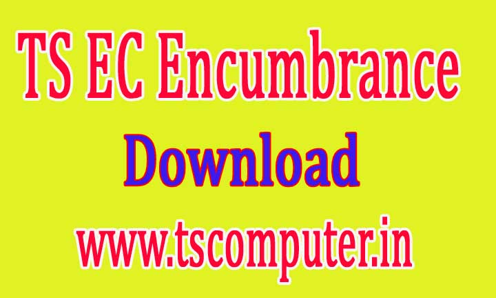 Telangana EC Encumbrance Certificate Online Search Download -Registration