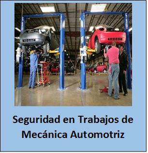 Seguridad en Trabajos de Mecánica.