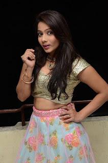 Actress Mitraw Stills at Aame Evaru Movie Audio Launch  0016.jpg