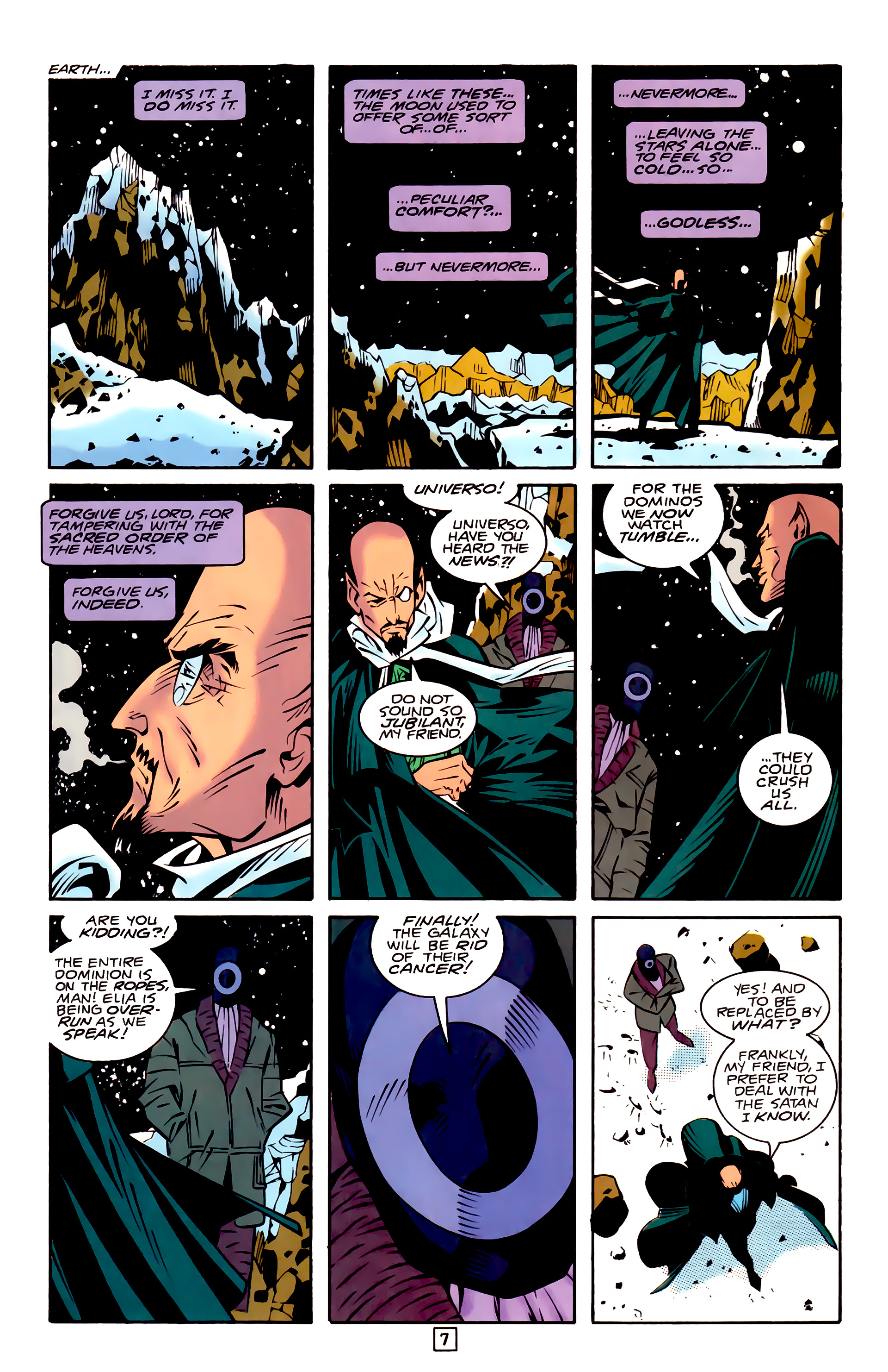 Legion of Super-Heroes (1989) 32 Page 7