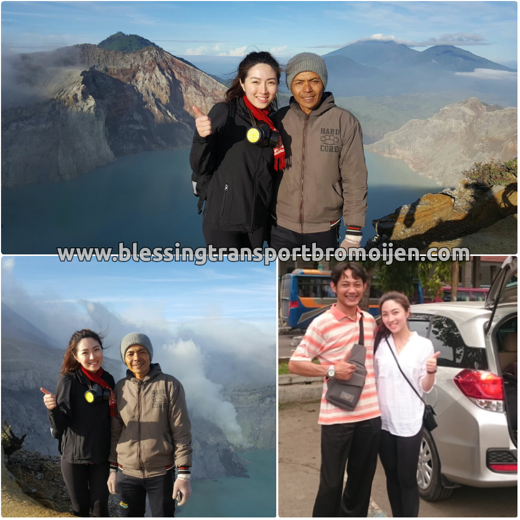 Wynnie-solo traveler (SG), transport from Surabaya to Bromo-Ijen-Bali. March, 27th to 29th, 2017
