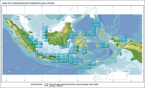 Peta Kelautan Indonesia