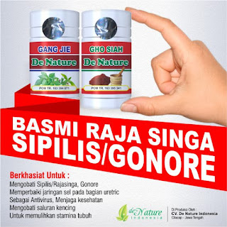 Agen Obat Kencing Nanah De Nature Di Medan