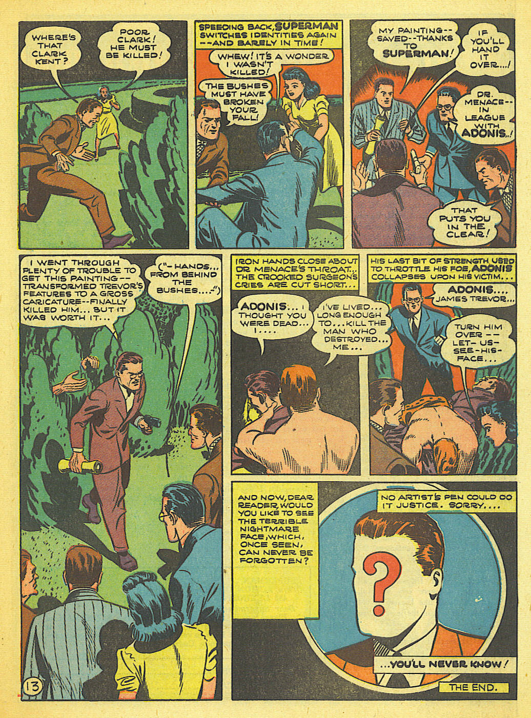 Read online Action Comics (1938) comic -  Issue #58 - 14