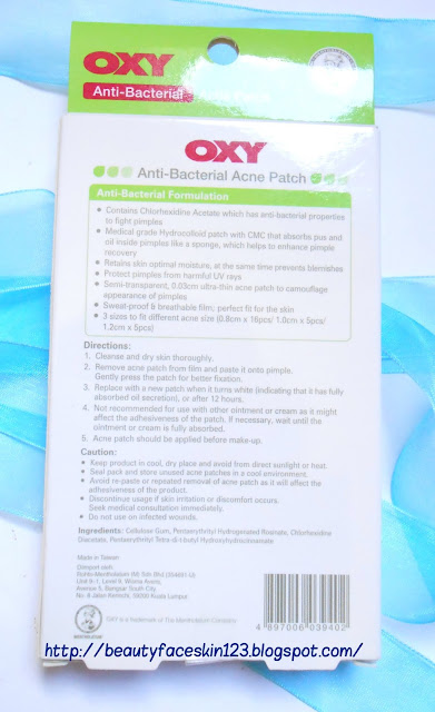 OXY ACNE PATCH