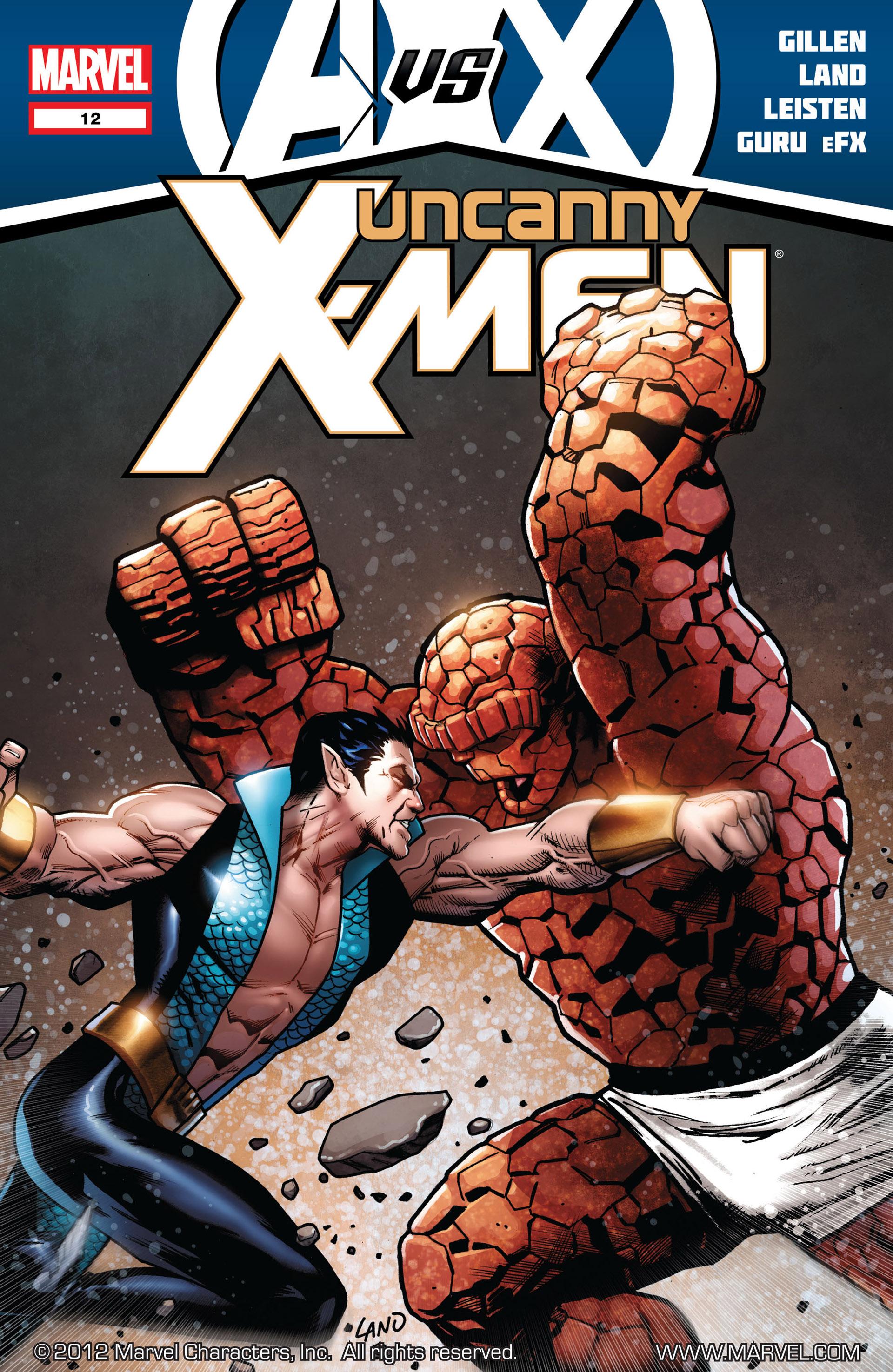 Uncanny X-Men (2012) 12 Page 1