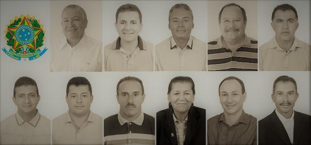 Os 11 vereadores do Poder Legislativo do município Panelas-PE 2017 a 2020