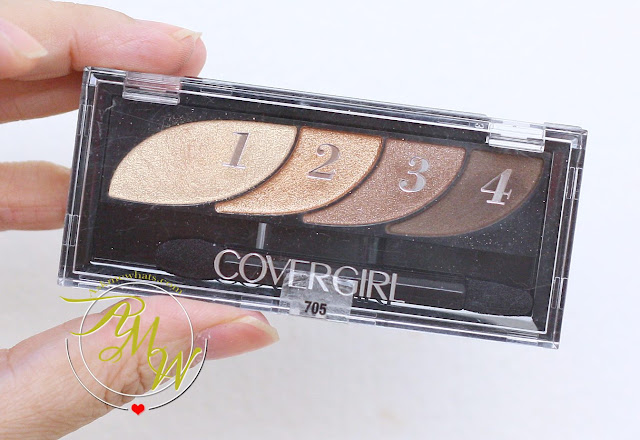 a photo of Cover Girl Bold Eyeshadow Quads