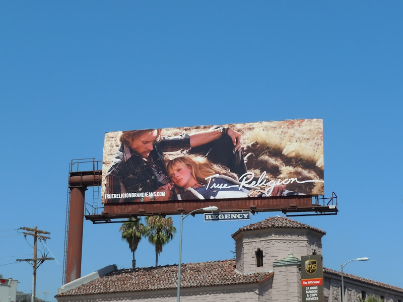 True Religion Fall 2011 billboard