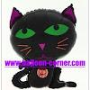 Balon Foil Halloween Cat