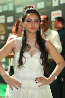 Meghana Gaur in a Deep Neck Sleeveless White Gown at IIFA Utsavam Awards 038.JPG