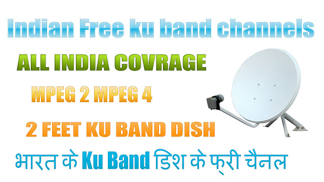 Indian free ku band channels