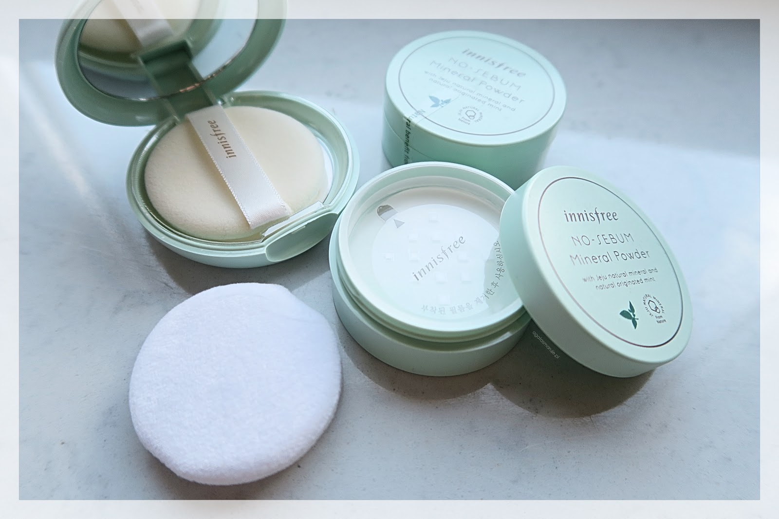 Innisfree No-Sebum Mineral Powder INCI