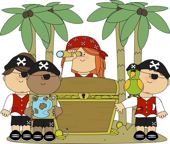 Pirate Girl: This pirate knows how to find GOLD!