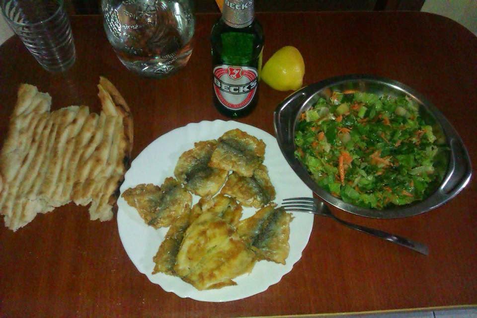 Mekanda balık yemek evde balık yemeye karşı