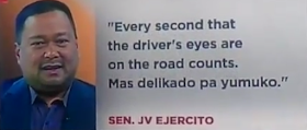 """Senators would like to suspend the Anti-Distracted Driving Act that is recently being implemented in the Philippines.  The reason for the suspension, they only wanted to make driving safer but the implementation has been very complicated as it has required several things that are quite unreasonable for many.      What is RA 10913 or the Anti-Distracted Driving Act?       """"RA 10913 or the Anti-Distracted Driving Act is a new law that prohibits motorists from using communication devices and other electronic entertainment and computing      gadgets while vehicles are in motion or temporarily stopped on a traffic light or an intersection. A motorist, as defined under this law, is a person who is driving motor vehicle.""""  The law was passed in order to protect and make driving safer.    What does this law prohibit?     """" Prohibited acts made while driving include but not limited to: making or receiving calls, writing, sending or reading text-based communications, playing games, watching      movies, performing calculations, reading e-books, composing messages and surfing or browsing the internet.""""     It is meant to prohibit drivers from using the cellphone while driving. But on the implementation, drivers are also prohibited from using the phone to read e-books, play games, or make calls even when the car is not moving during traffic.   Items on the dash board is also prohibited, these includes air freshener, decorations including rosary.   Navigational devices such as GPS, are allowed however it is required that they be placed below the dashboard or to prevent obstruction of driver's view if placed on the dashboard. Driver's however are complaining that it is more dangerous to look down when following the navigation device.   Can we still use traffic and navigational apps like Waze and Google Maps while driving?       """"Yes. Although motorists are being advised to set their preffered destination on these applications prior to their departure. Gadgets with these applicati"""