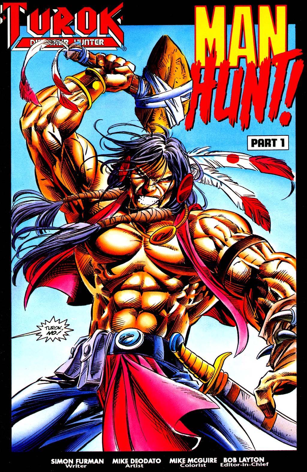 Read online Turok, Dinosaur Hunter (1993) comic -  Issue #29 - 2