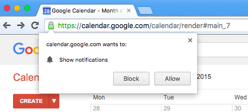 New Google Calendar URL