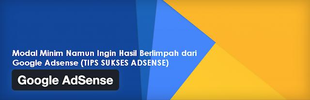 Tips Sukses Menjalankan Google Adsense