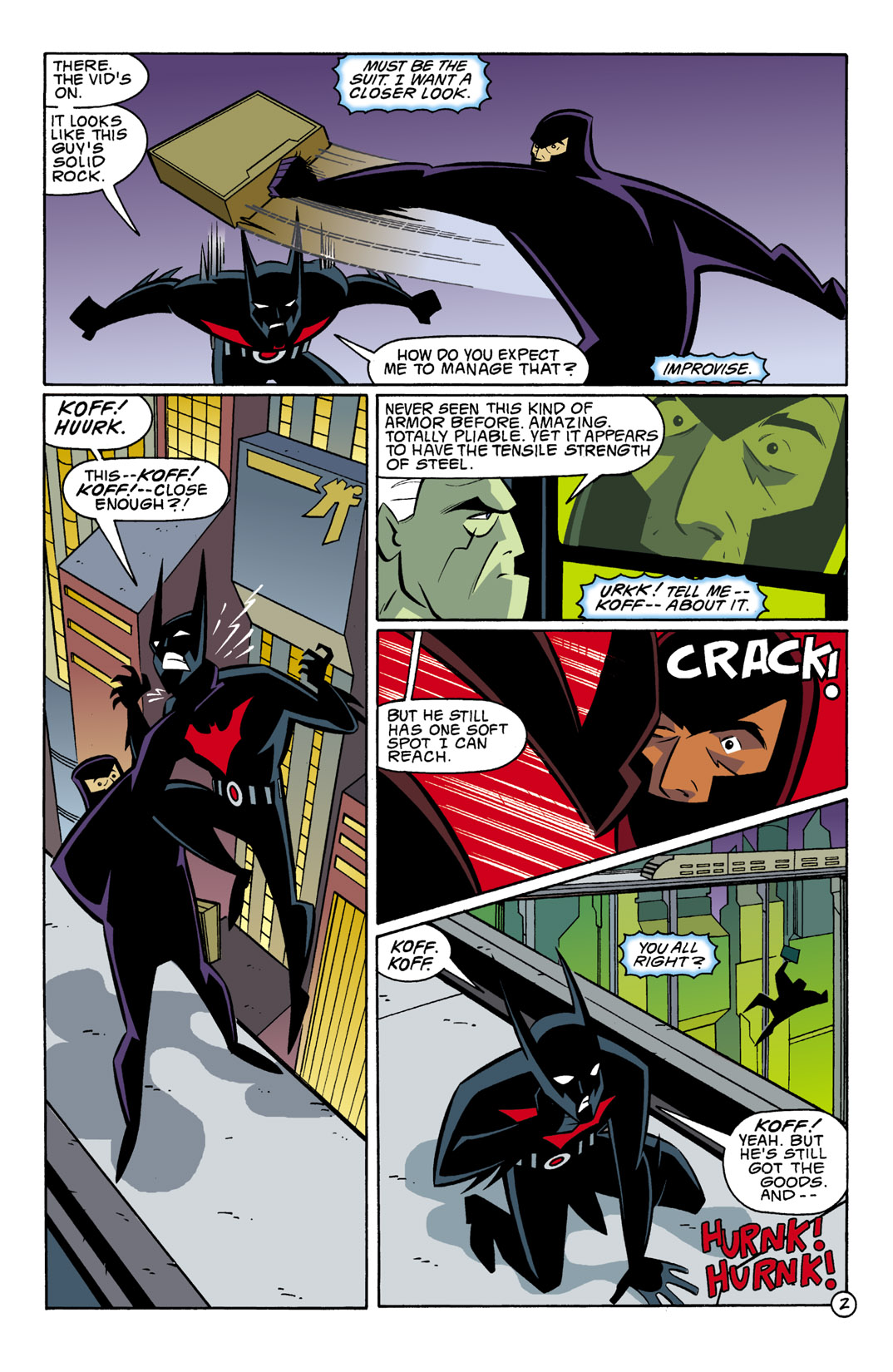 Batman Beyond [II] Issue #2 #2 - English 3