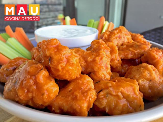 boneless de pollo buffalo salsa de alitas iguales a chilis applebees