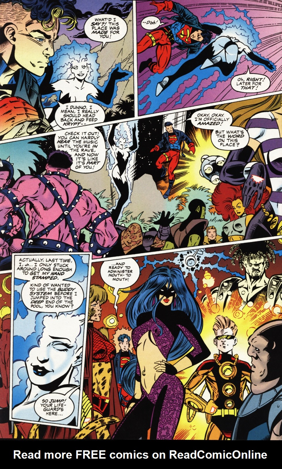 Read online Superboy & The Ravers comic -  Issue #1 - 5