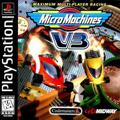 descargar micro machines v3 psx mega