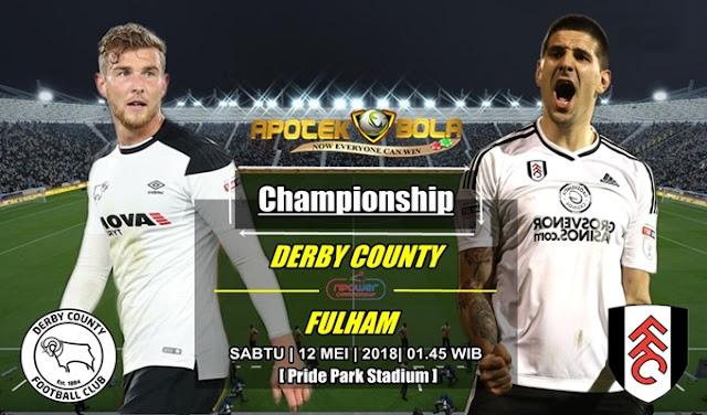 Prediksi Derby County vs Fulham 12 Mei 2018
