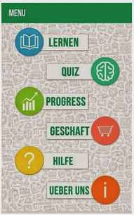 Aplikasi android bahasa jerman Meinkauf