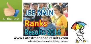 JEE Main 2016 Results Today,JEE Main Score Card 2016,Schools9 JEE Mains Rank Card 2016
