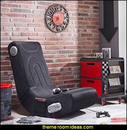 mushroom stool video game theme custom furniture. Exellent Video Gaming Chairs For Mushroom Stool Video Game Theme Custom Furniture
