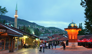 Sebilj in the center of Sarajevo