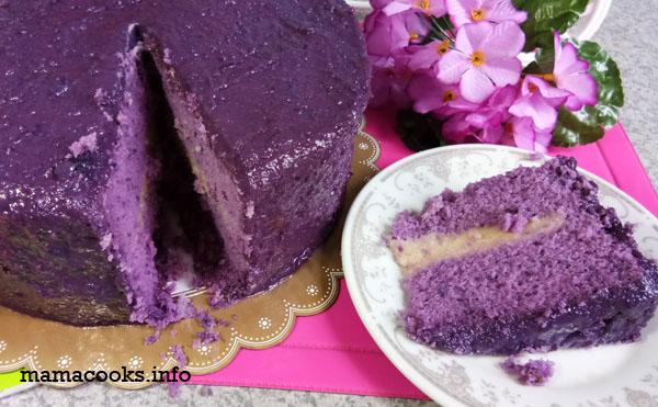 Ann Puen ube cake
