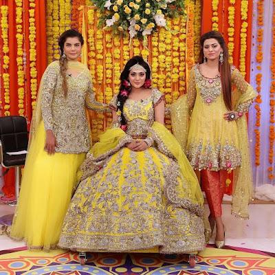 b63bfd5892 Nida yasir mehndi dresses collection 2019