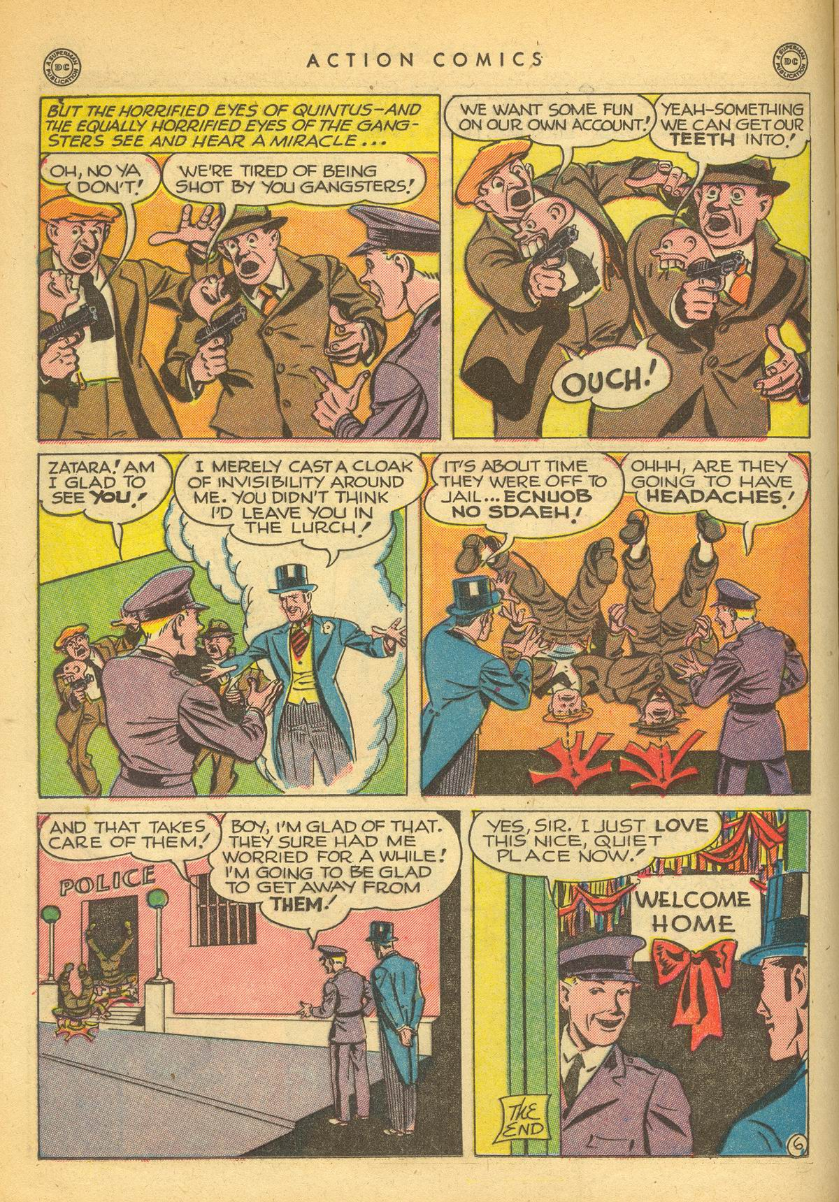 Read online Action Comics (1938) comic -  Issue #109 - 22