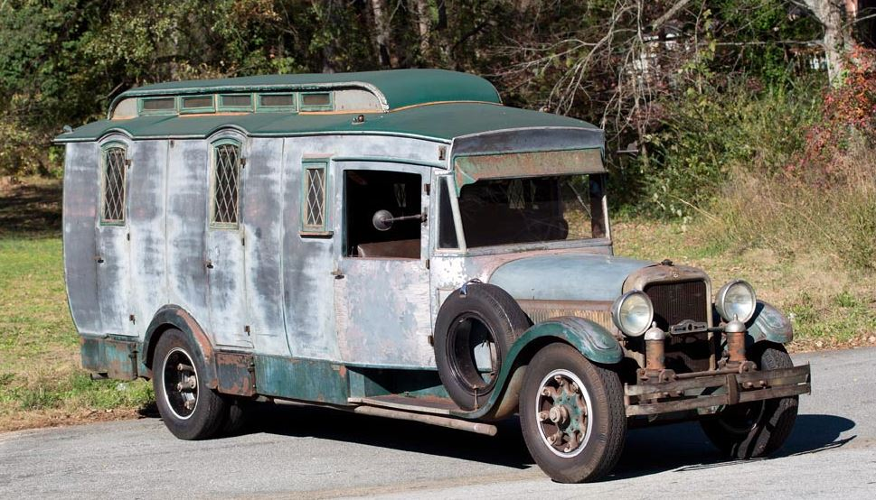 Just A Car Guy: the unrestored Studebaker rv finally is going to ...
