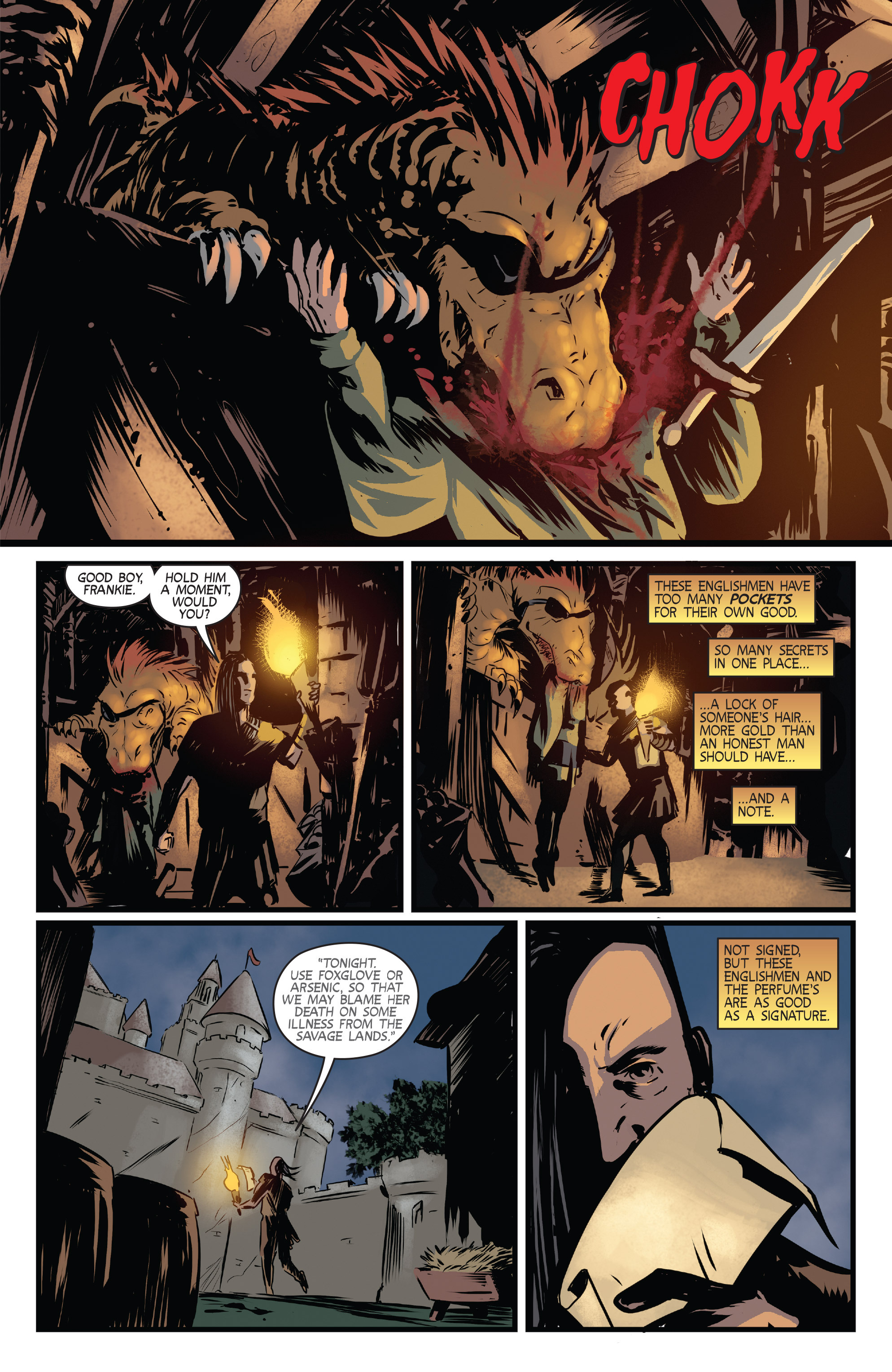 Read online Turok: Dinosaur Hunter (2014) comic -  Issue # _TPB 3 - 43