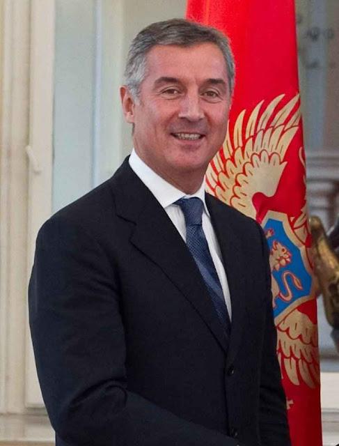 O primeiro ministro de Montenegro Milo Djukanovic escapou  de pouco de atentado planejado em Moscou