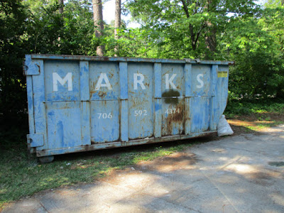 dumpster love, blue patina, rusty and crusty things